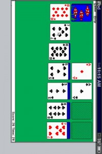 Who needs a solitare app when you can just run Windows 3.1